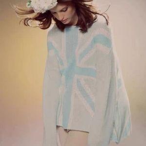 Wildfox British Flag Sweater